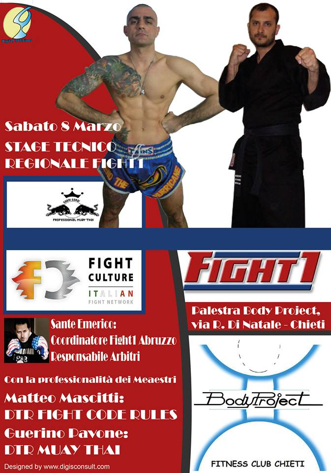 Stage tecnico regionale Fight1